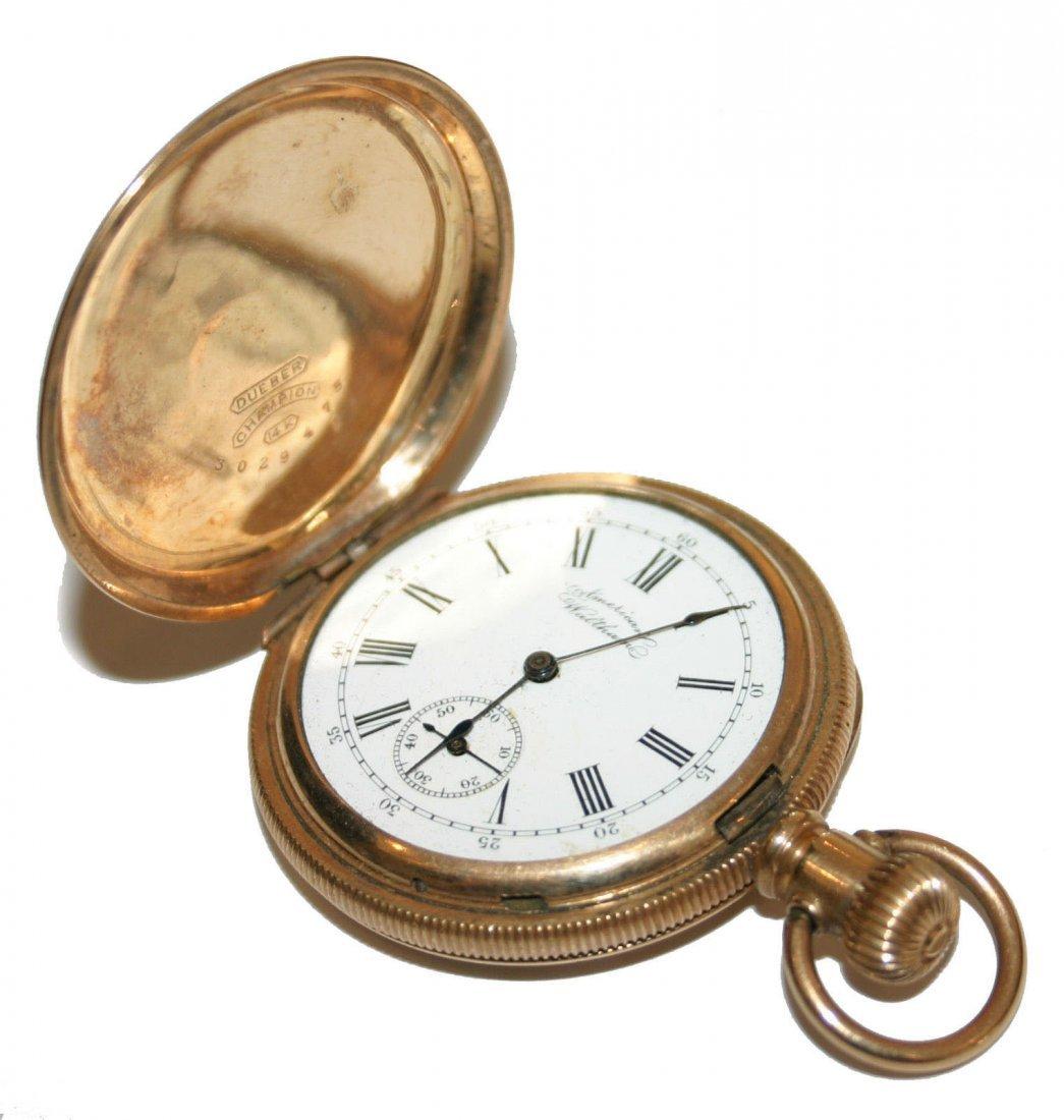 Waltham 14k Gold Pocket Watch (3802)