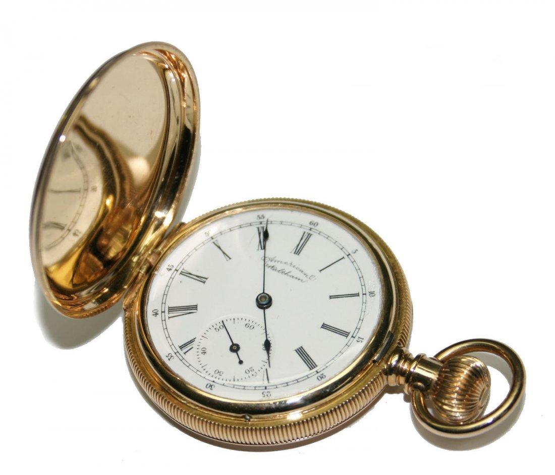 14K Gold American Walthan Pocket Watch 56 GR (2574)