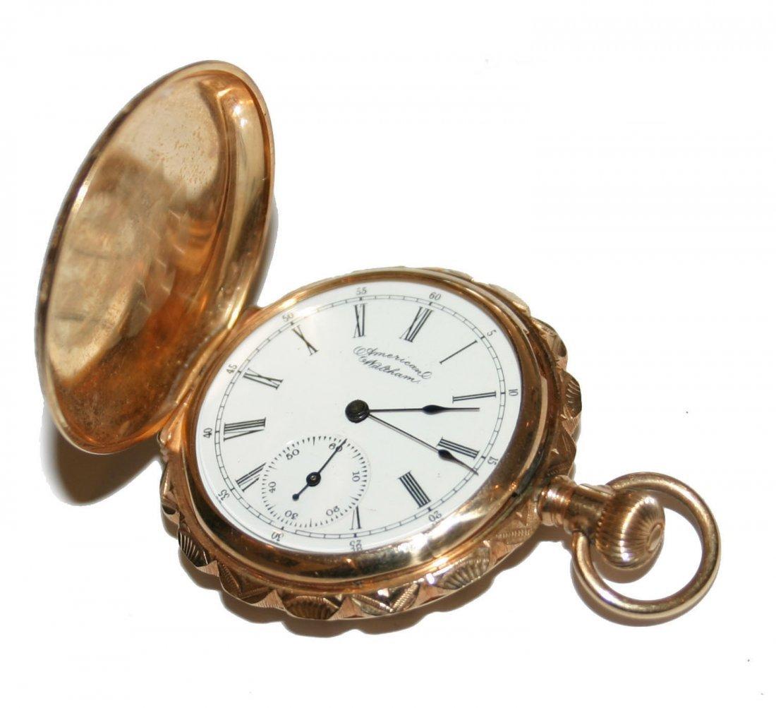 Waltham 14K Gold Pocket Watch (3792)