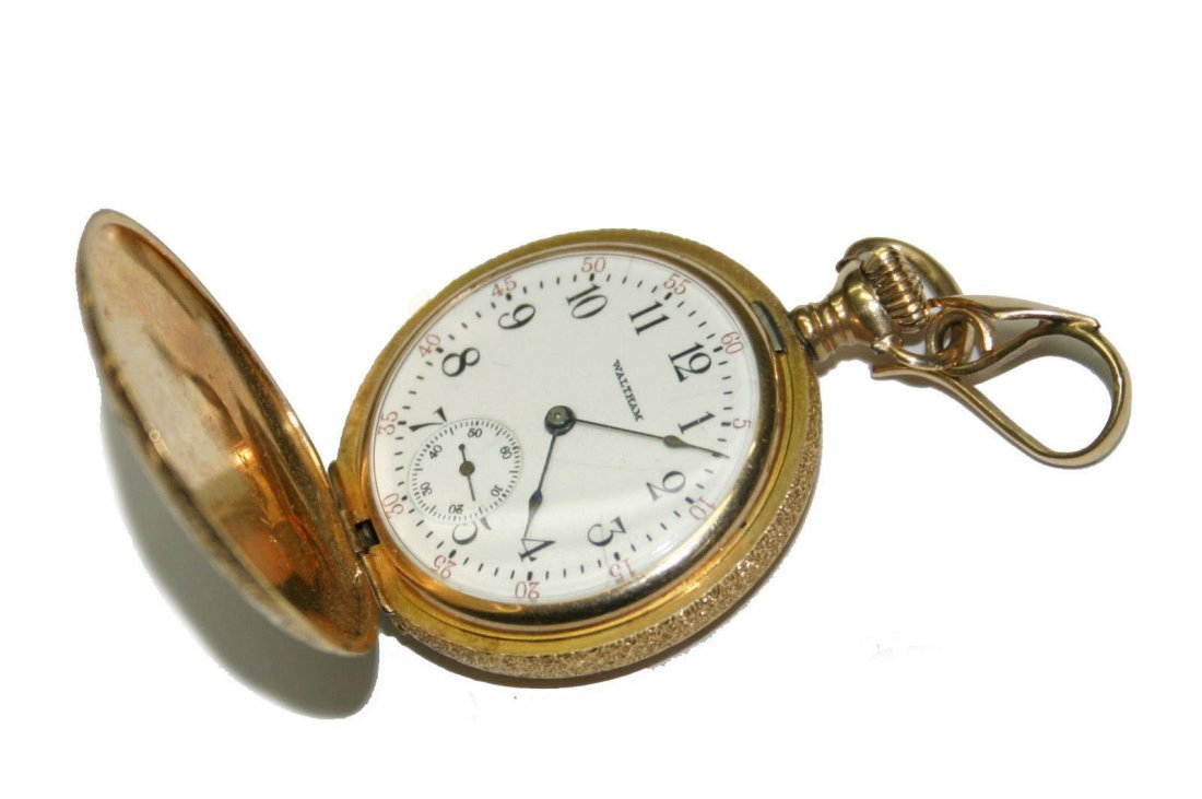 Waltham 14k Gold 1910 - 15 Jewels Pocket Watch (2570)