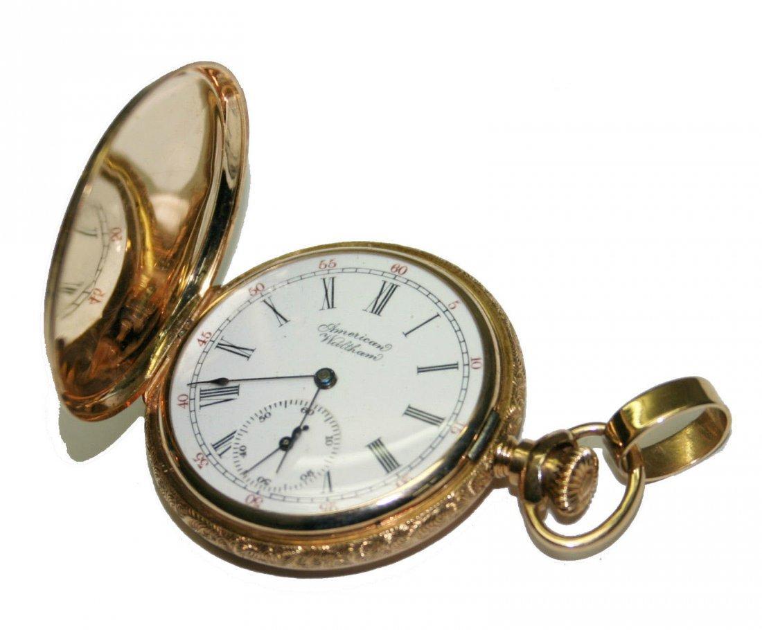 American Waltham 14k Gold Pocketwatch (2571)