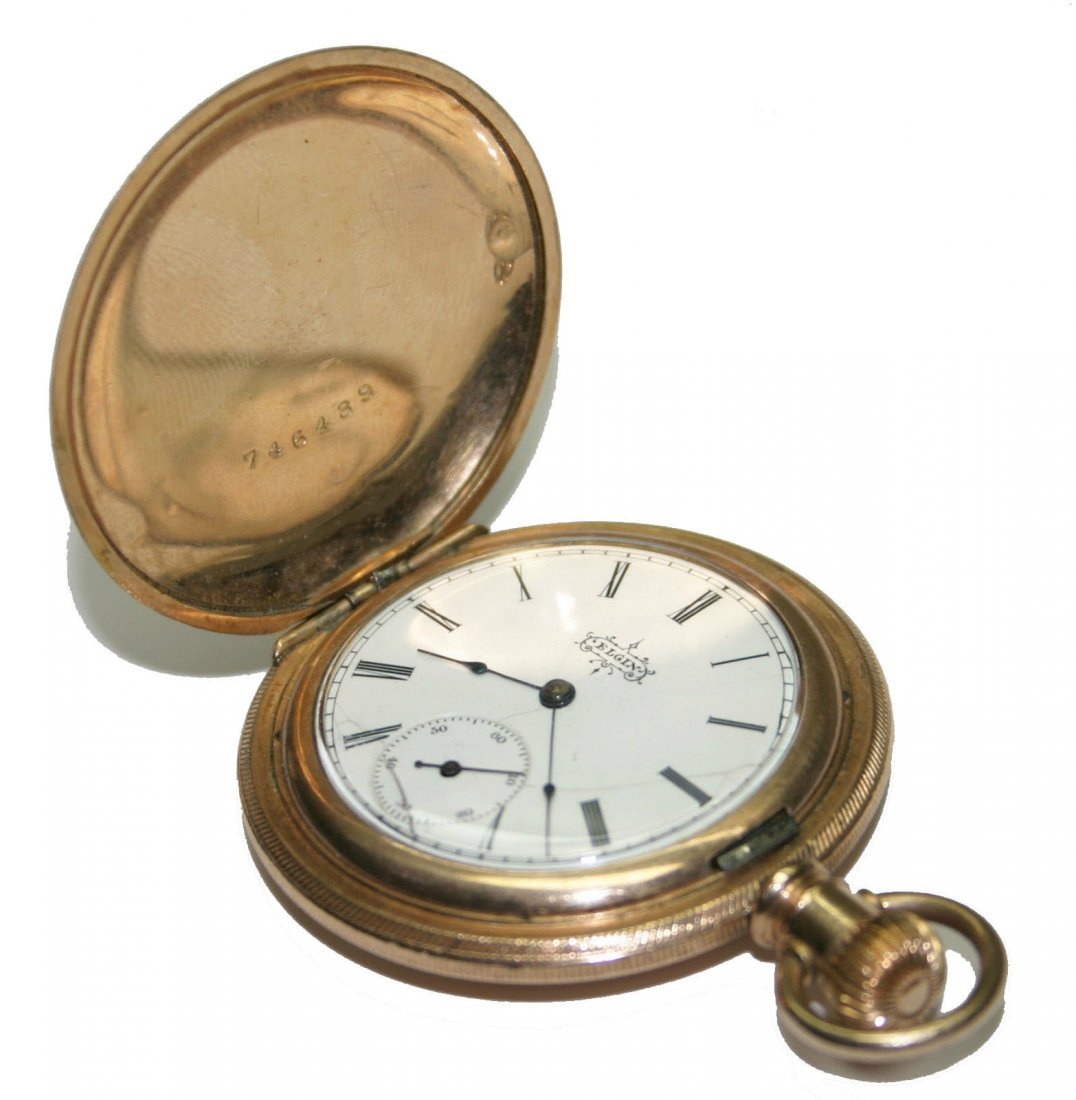ELGIN 14k Gold Pocket Watch (2577)