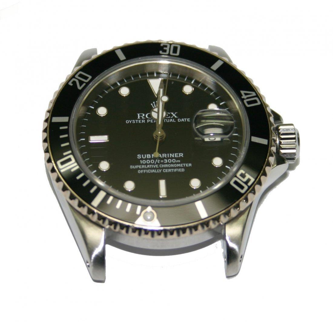 Men's Rolex-Stainless Steel Black Dial/Face Submariner