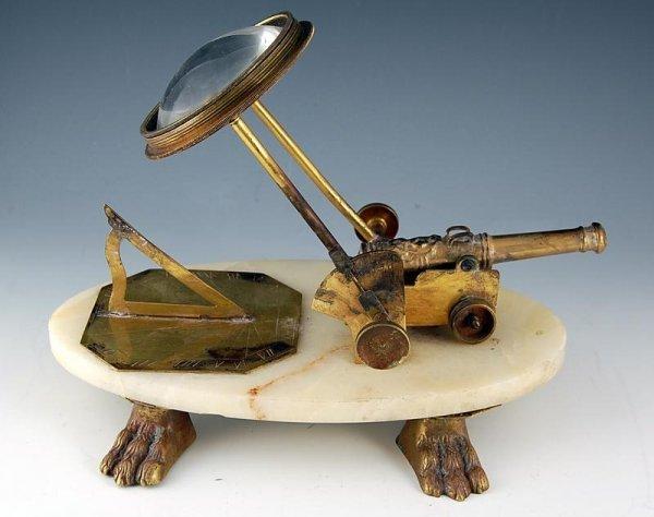 17: Sundial/Signal Cannon