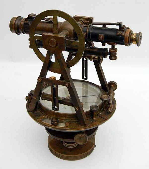 19: Theodolite by W. & L. E. Gurley