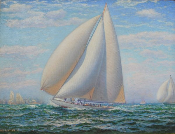 215A: Late Add. O/C, America's Cup by Tyler, Amer. 185
