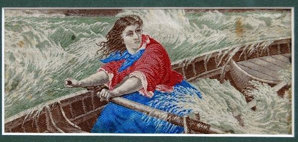 117: Stevengraph-Grace Darling, Eng. Victorian Heroine