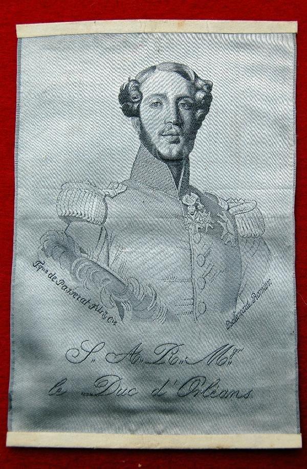 120: silk- Prince Philip Duke of Orleans