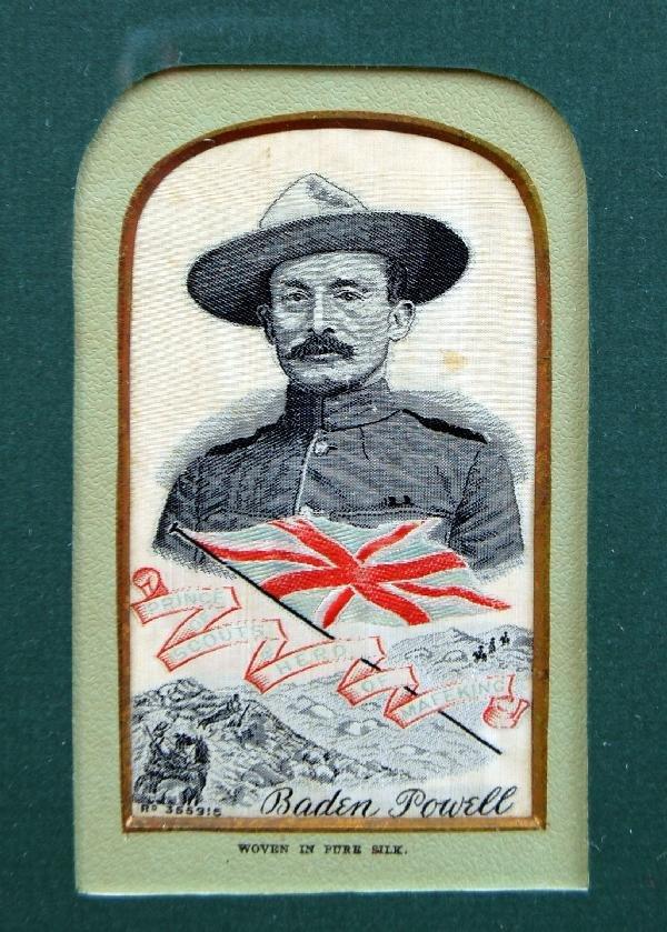 124: Stevengraph - Baden Powell