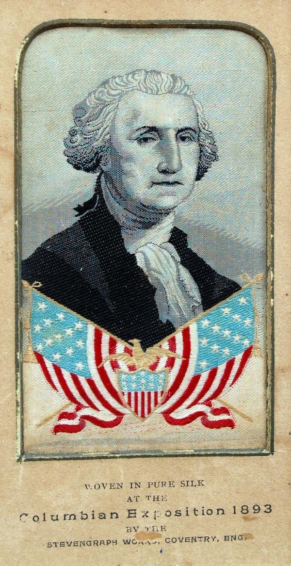 129: Stevengraph - George Washington