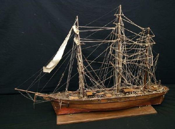 154A: #1 Model of an armed Clipper ship