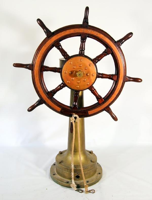155: Tugboat 'Kiowa' Ship's steering system