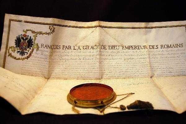 302: Signature Francis II, Holy Roman Emperor