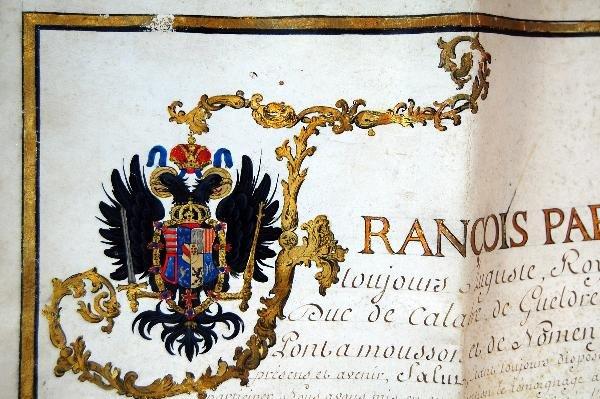 302: Signature Francis II, Holy Roman Emperor - 2