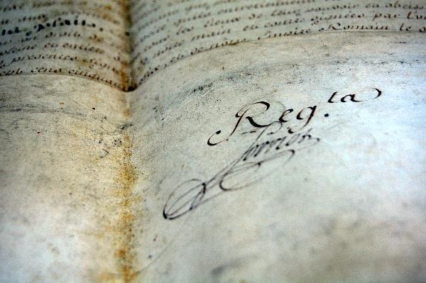 302: Signature Francis II, Holy Roman Emperor - 3