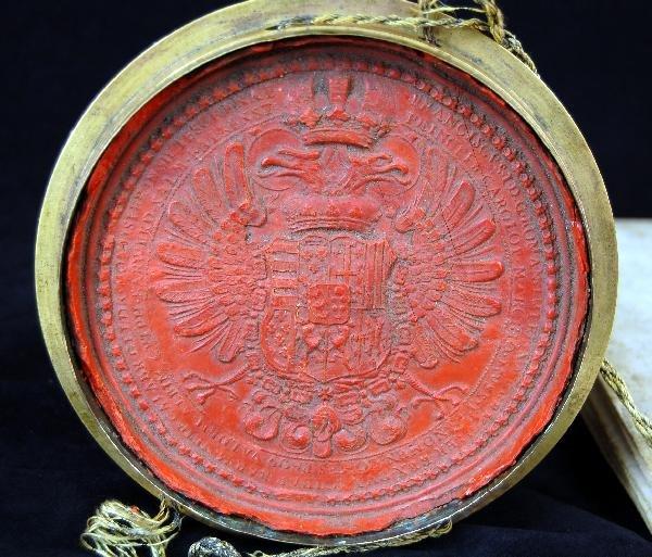 302: Signature Francis II, Holy Roman Emperor - 6