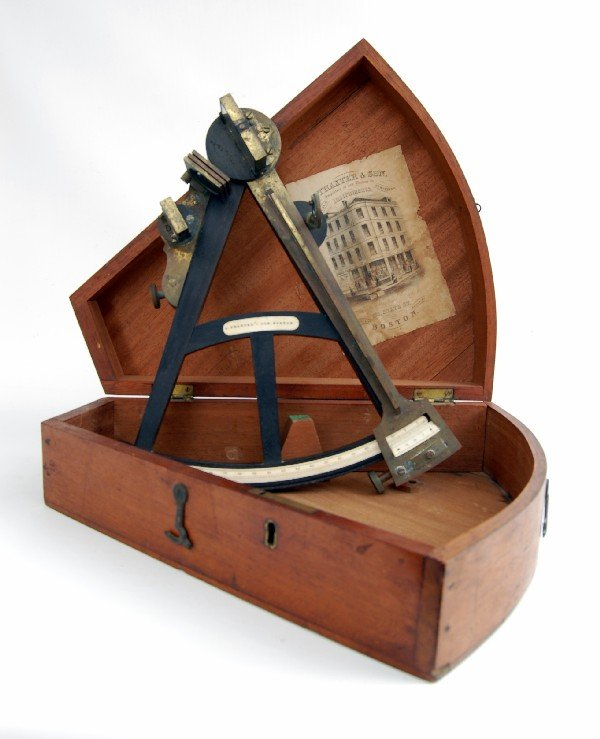 524: Octant, Cased 19 C., Thaxter & Son, Boston