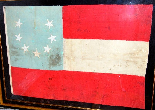 545: 1st Nat'l Flag of Confederate States of America