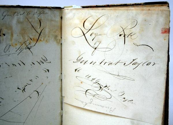 640: Log Book US Gunboat 'Taylor' (Tyler), 1861-2 - 2