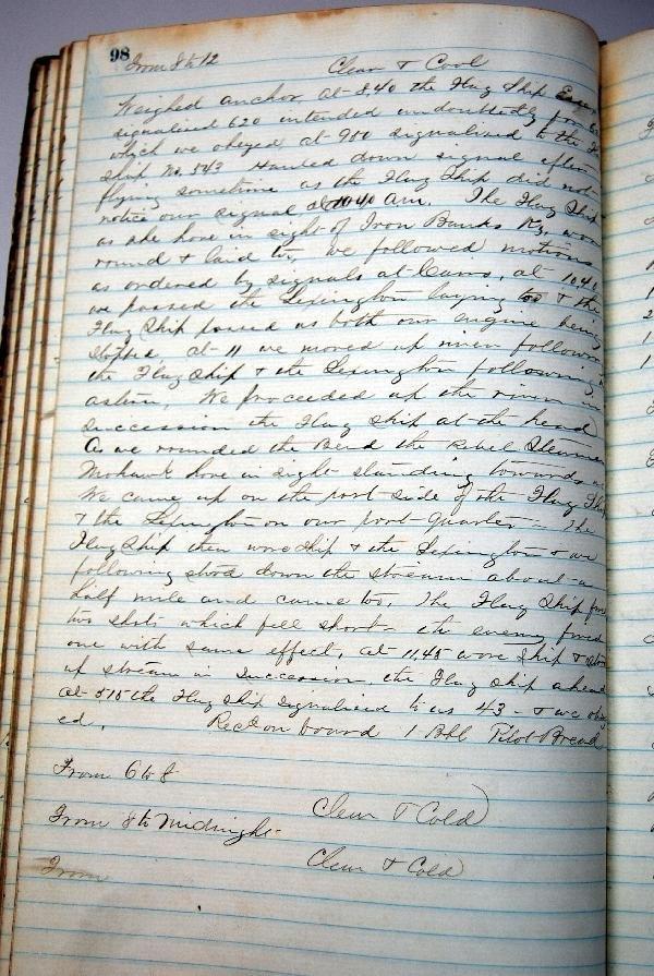 640: Log Book US Gunboat 'Taylor' (Tyler), 1861-2 - 4