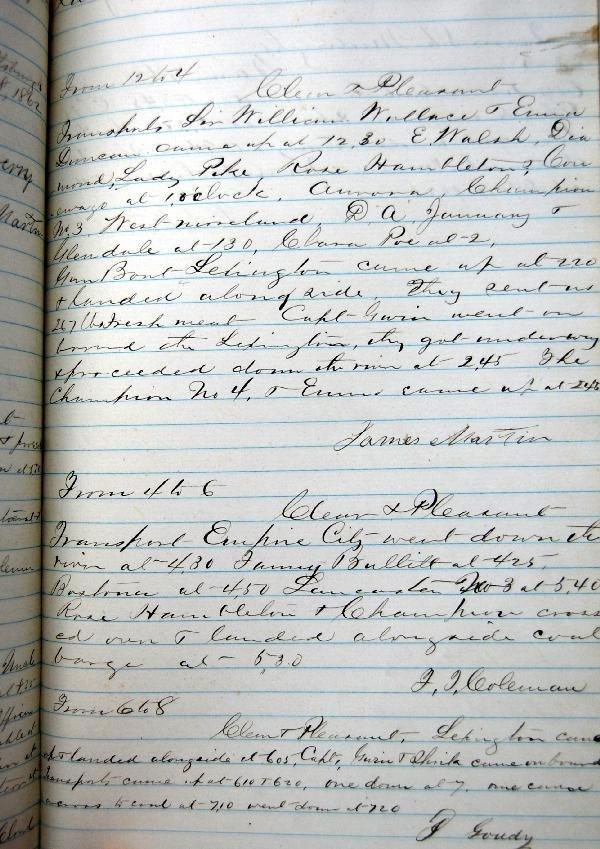 640: Log Book US Gunboat 'Taylor' (Tyler), 1861-2 - 5