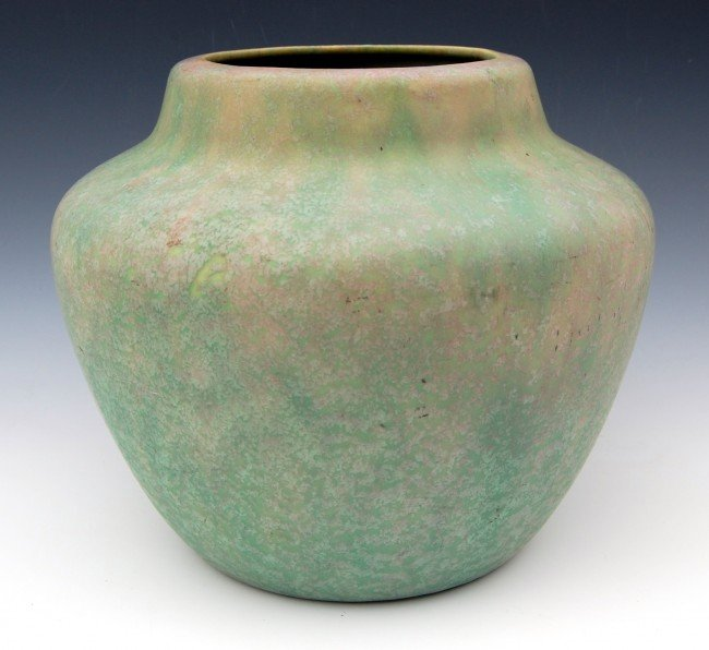 "102: Art Pottery Jardiniere 9.5 diameter"""