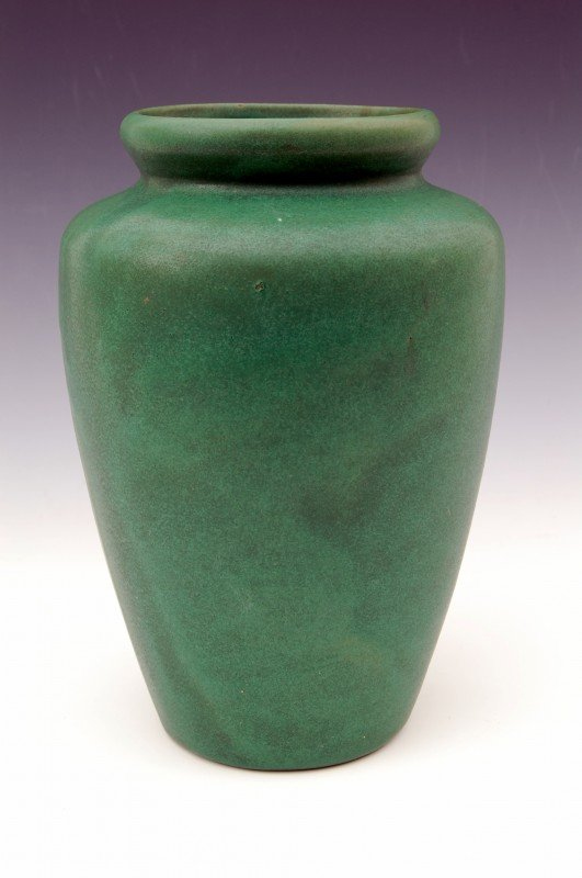 "108: Art Pottery Vase, 8.25 Tall"""