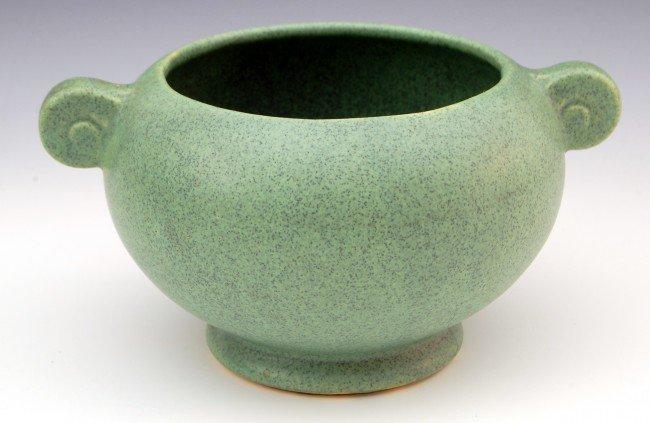 "111: Art Pottery Jardiniere, 7.25"""