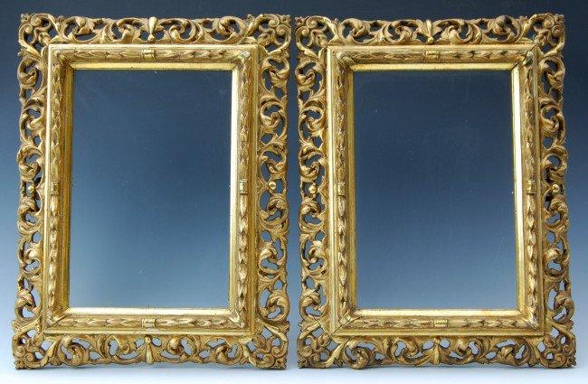"""117: Frames, Italian Gold Leaf, 11 x 14.5"""""""""""