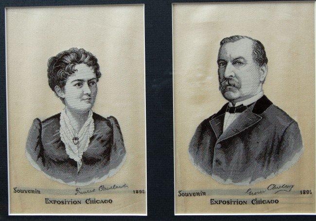 120: Silk Weaving - President Cleveland