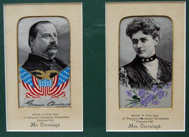 121: Silk Weaving Pres. Grover Cleveland