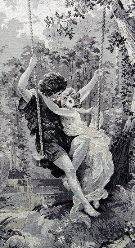 122: Silk Weaving Lovers on a Swing