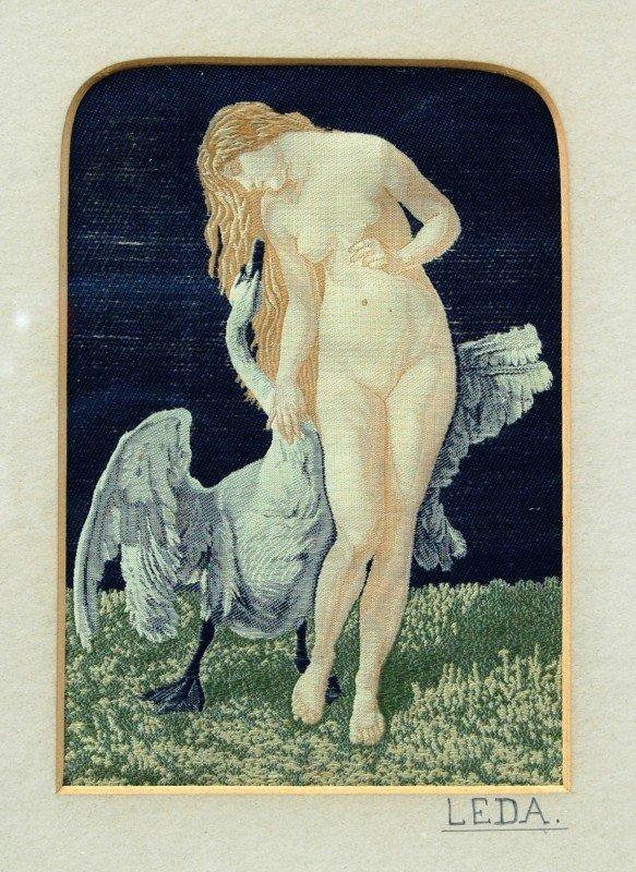 153: Silk Weaving - 'Leda'
