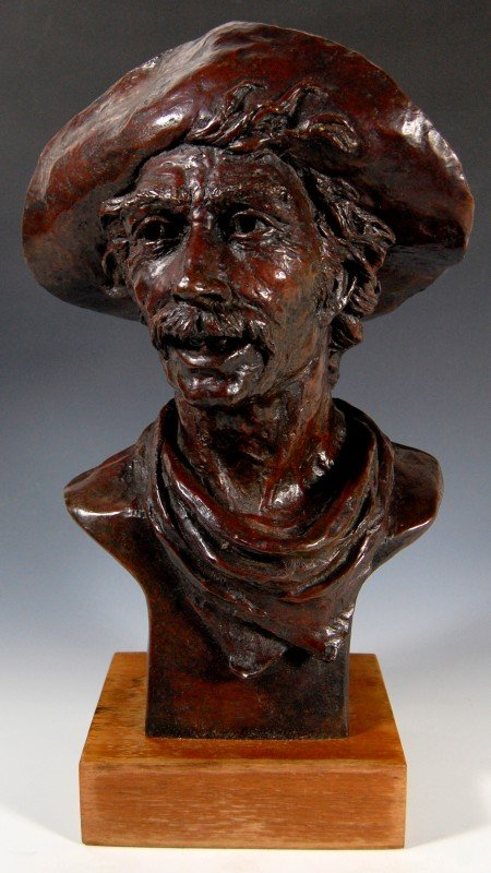 "402: Bronze, Mule Skinner"" by Greg Glasson"""