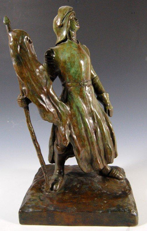 404: Bronze, by Stella Elkins Tyler, 'Knight'