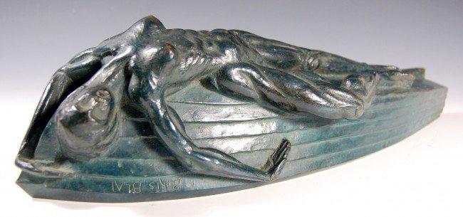 "407: Bronze Lifeboat"" by Boris Blai, 1893-1985"""