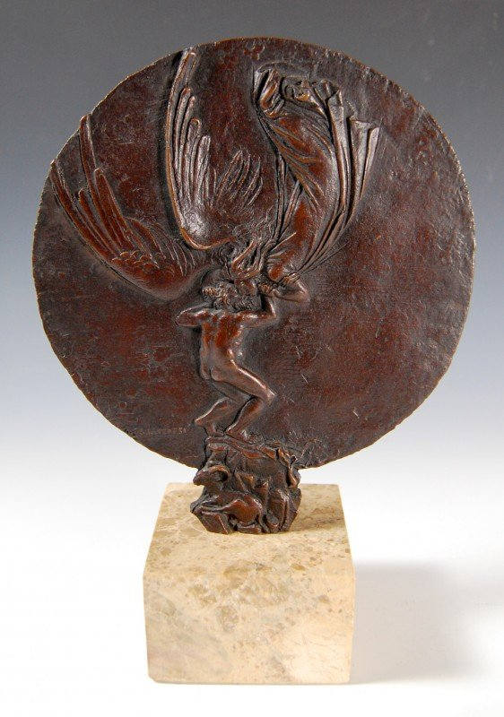 """408: Bronze,  Message from an Angel"""", Bruno Lucchesi"""""""