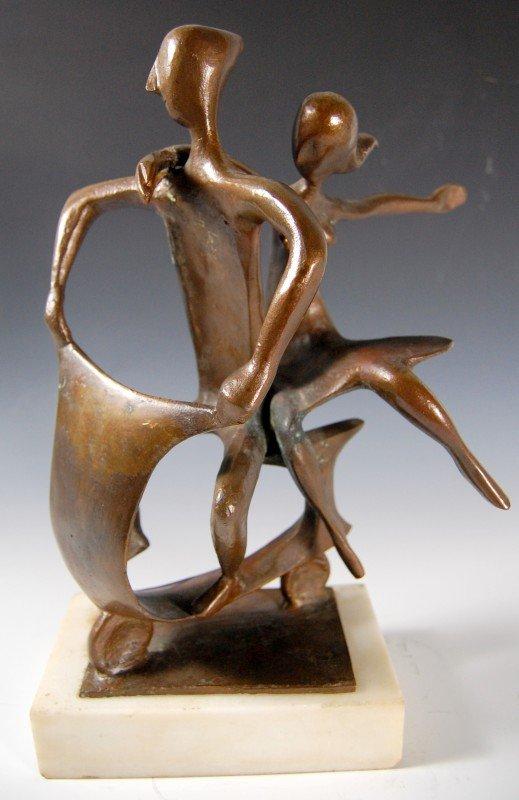 """410: Bronze, Our Vespa"""" by Milton Hebald, b. 1917"""""""