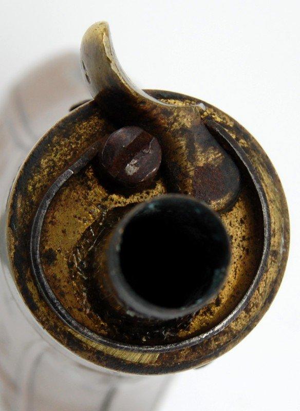 """426: Powder Flask, 4 Eagle E Pluribus Unum #1"""" - 4"""