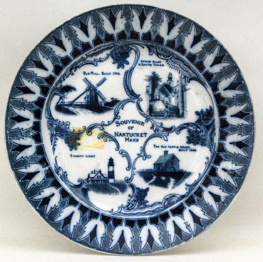 112:  Nantucket Plate, P.E. Clisby, circa 1900.