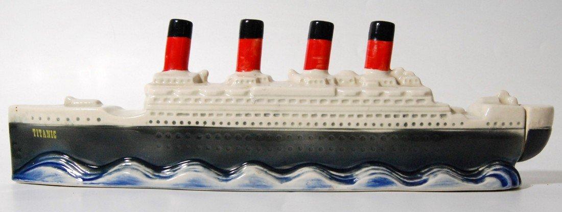 """120: Liquor Bottle """"Titanic"""" 1970, Paul Luz & Booklet L"""