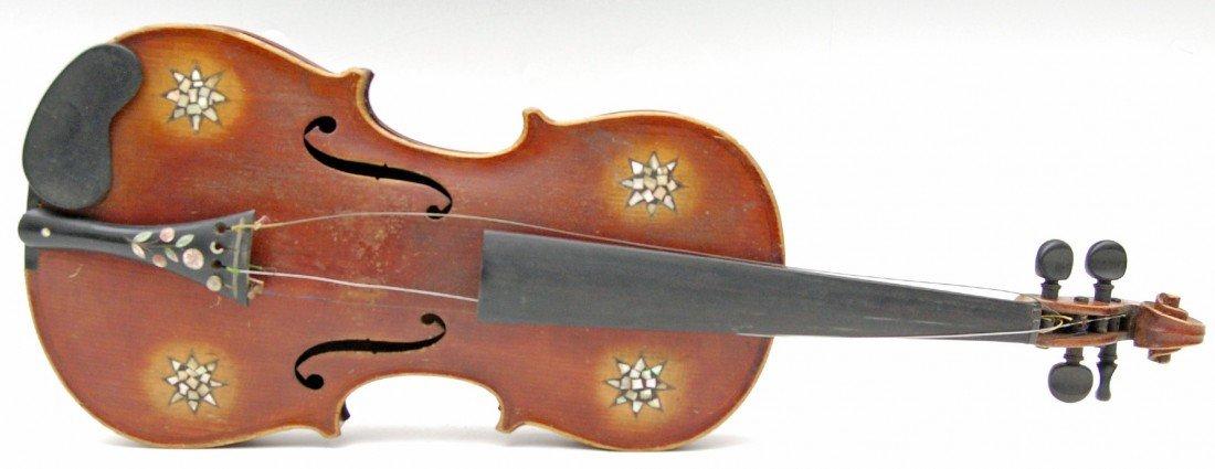 121: Violin, student reproduction Stradivarius c.1920s
