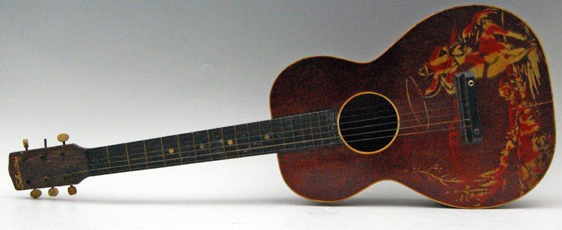 122: Guitar. 1940s, Sears & Roebuck, Hopalong Cassidy G