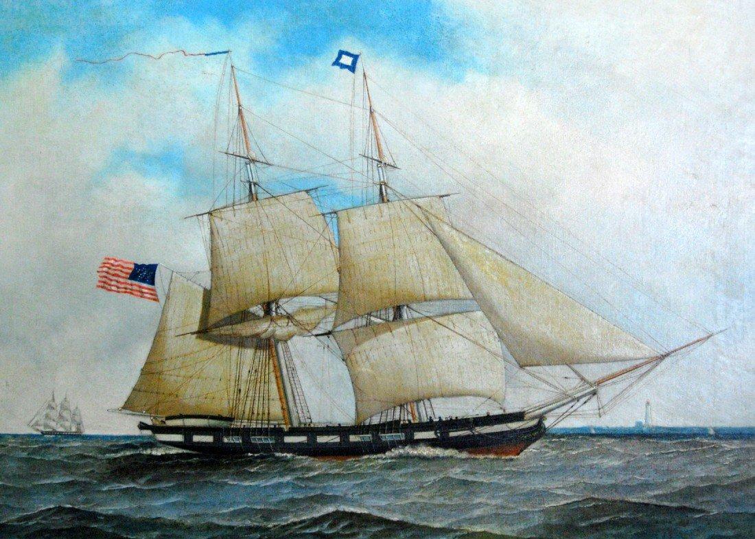 338: A. Jacobsen, Naval Brig, Niagara?, 1894
