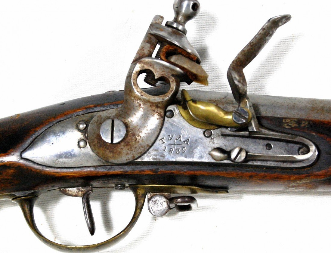 663: Musket, Russian M1808, TYNA( tula ) 1839 The Russi
