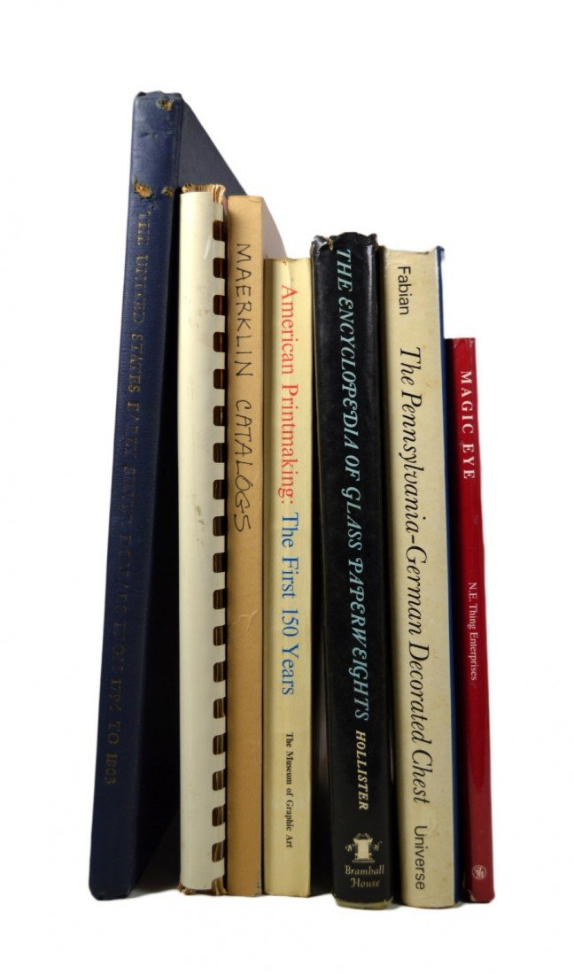 103: 7 Books on American Antiques & Collectibles