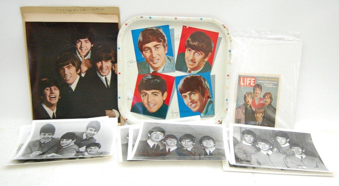111: The Beatles, Lot of Memorabilia