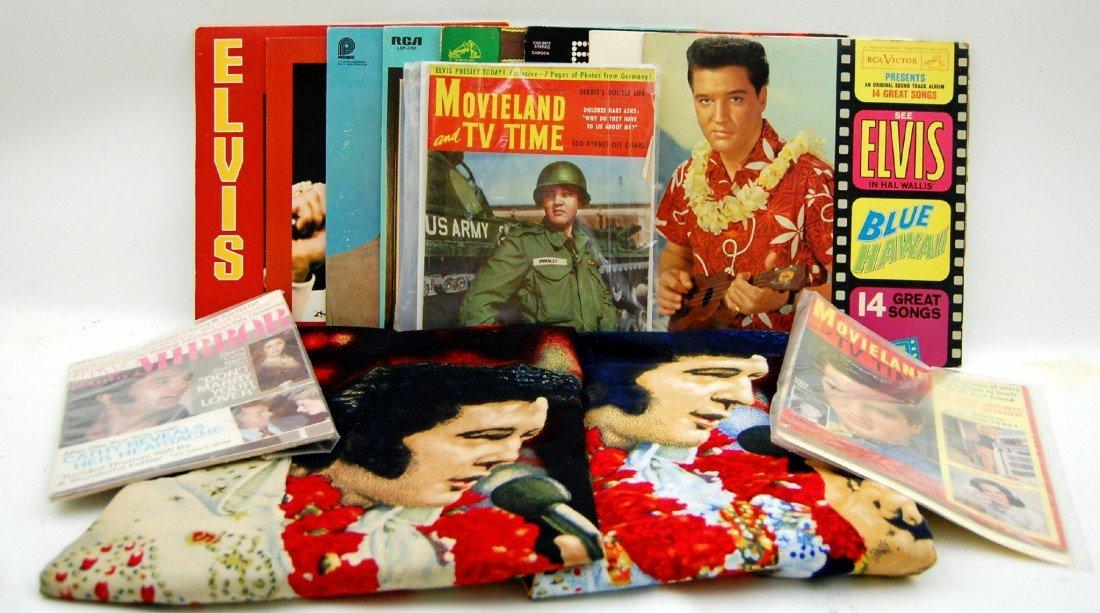 112: Elvis Presley Memorabilia