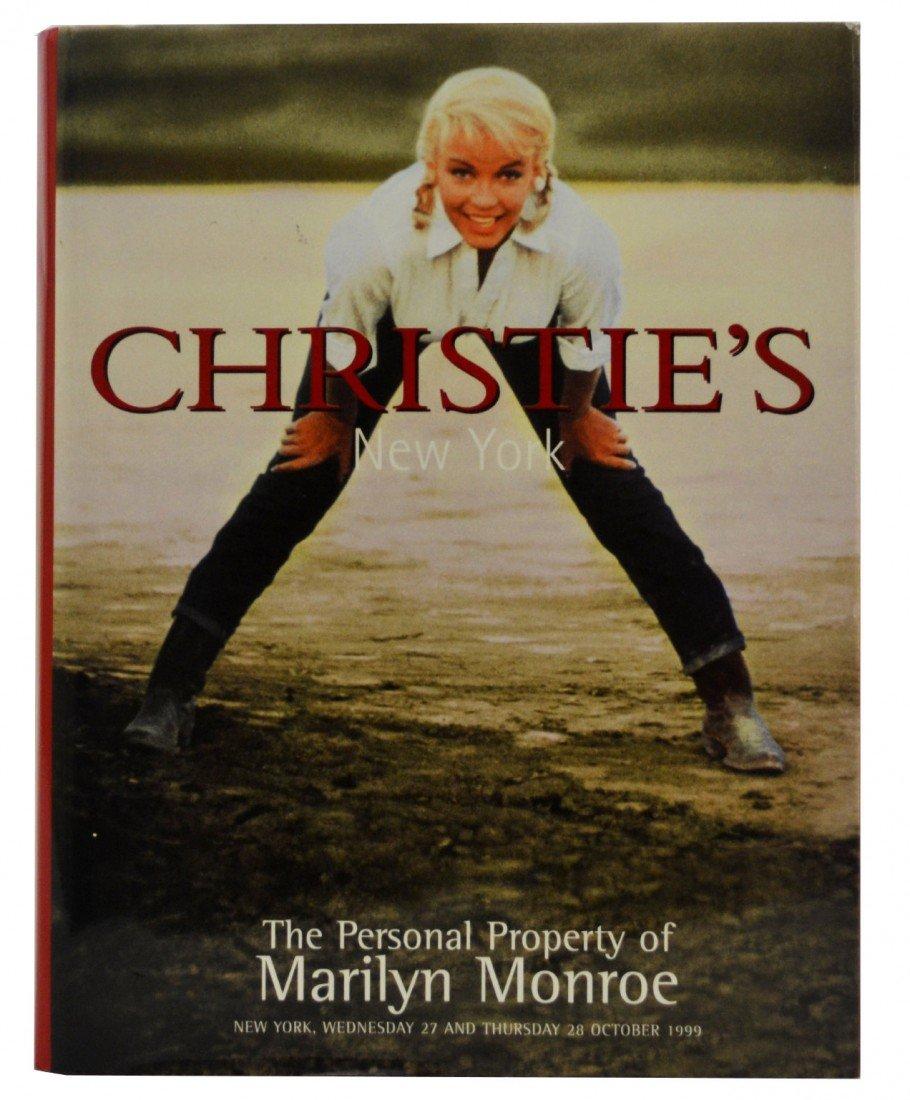 113: Christie's, Marilyn Monroe Estate Auction Catalog