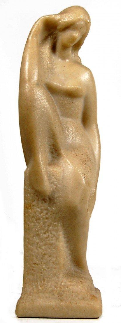 114: Standing Nude Sculpture, resin, Victor Glinsky